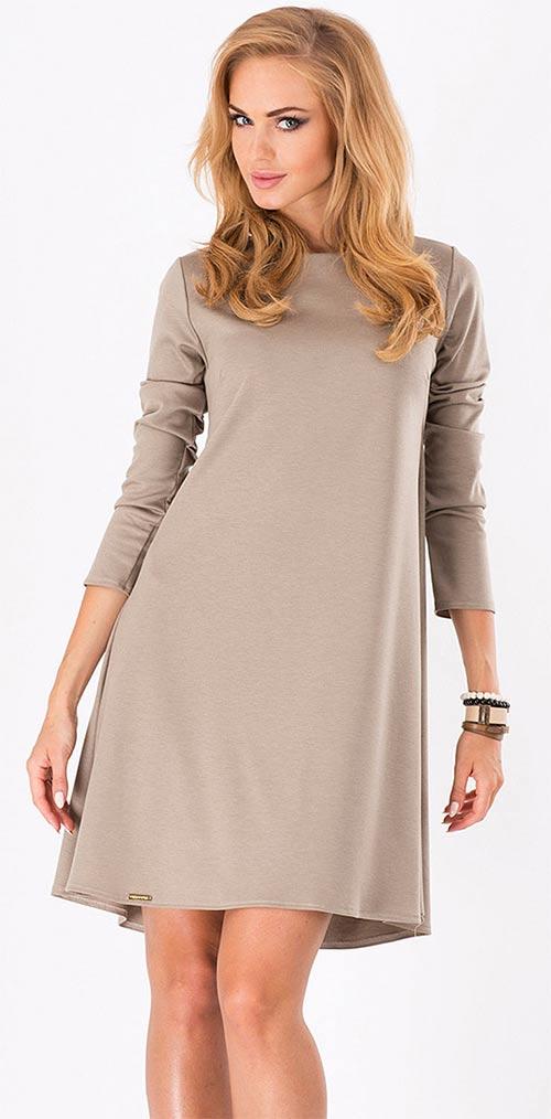 Šaty pro těhotné s dlouhým rukávem