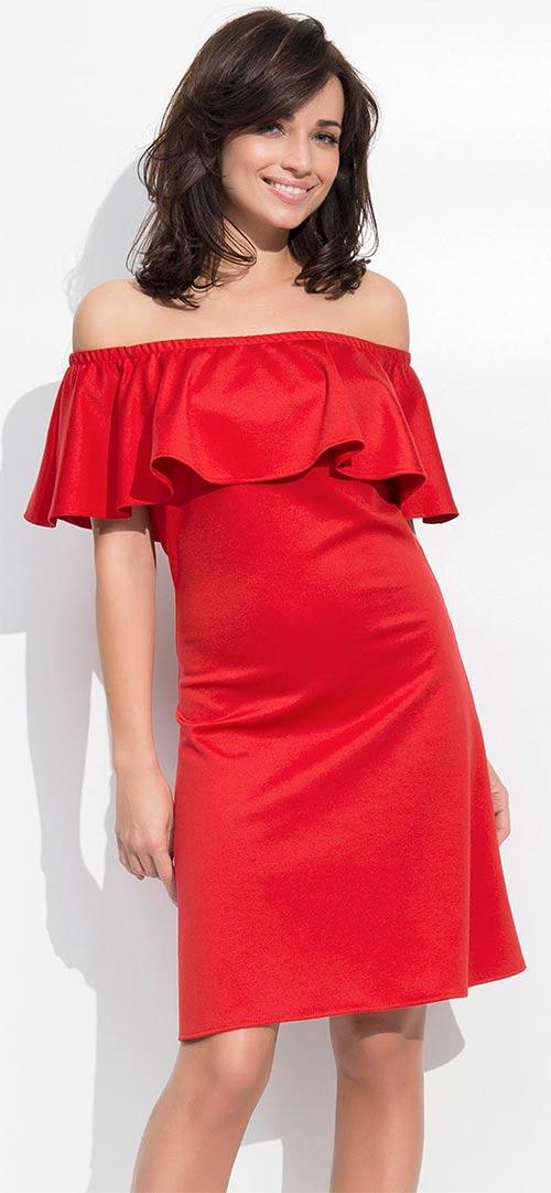 Šaty ve španělském stylu odhalenými rameny