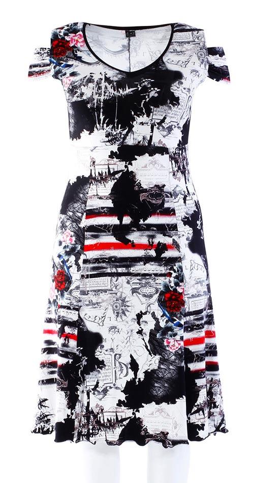 Vzdušné šaty ideální volbou na léto pro ženy kypřejších tvarů