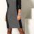 Šaty Milano z pružného úpletu s vsadkami pro zeštíhlení
