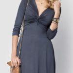 Dámské šaty vhodné i jako těhotenské