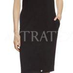 Elegantní šaty pouzdrového typu