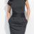 Módní dámské šaty tulipánového střihu