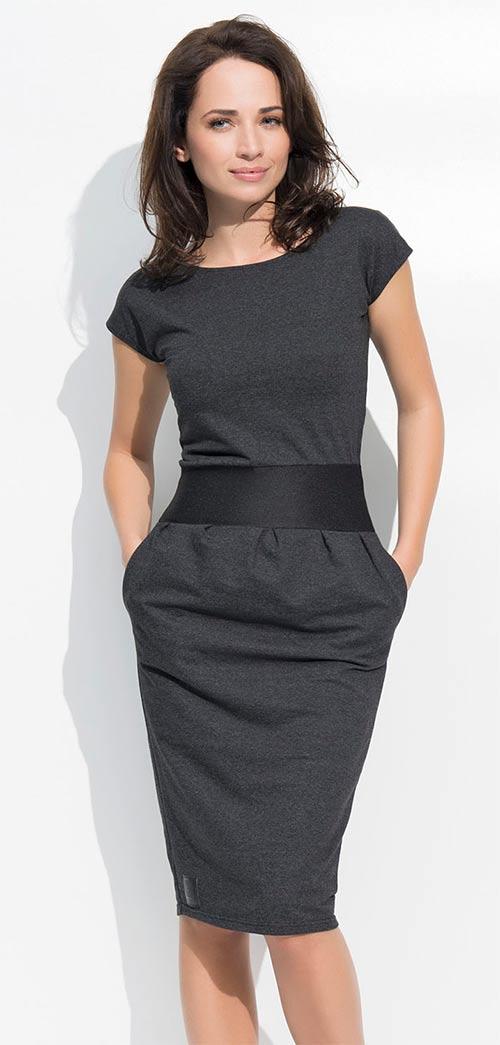 392256023edb Módní dámské šaty tulipánového střihu