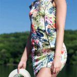 Plážové letní šaty přes plavky