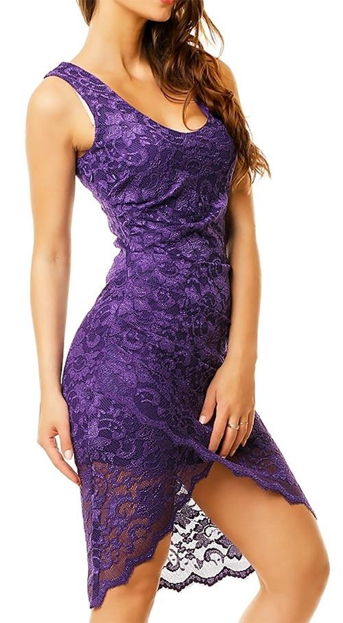 Sexy krajkové šaty
