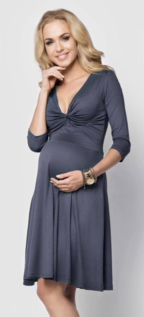 Společenské těhotenské šaty