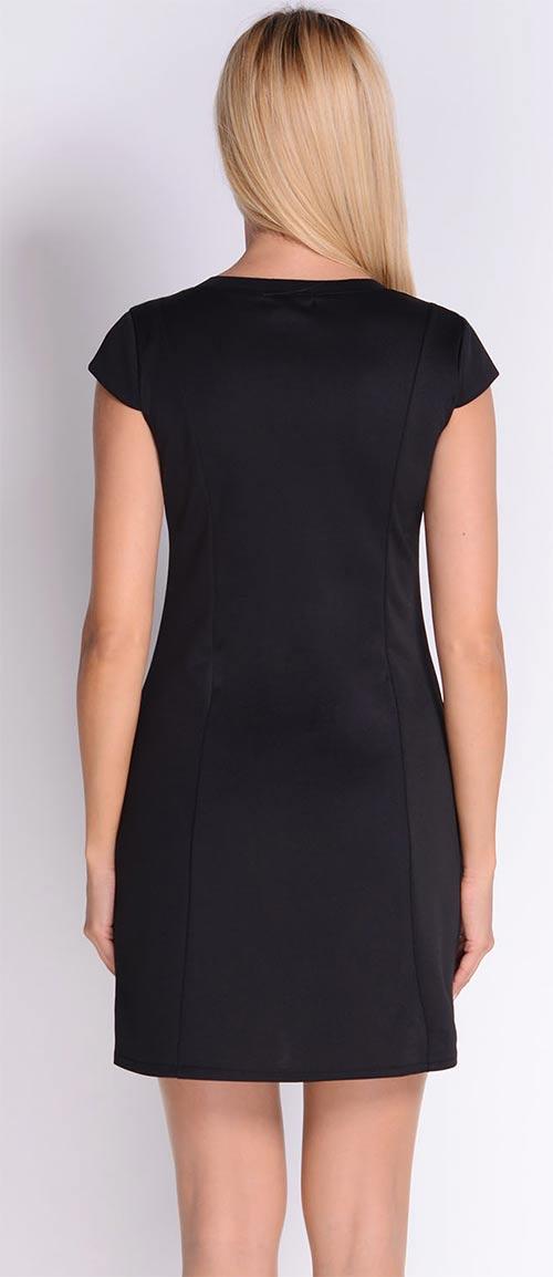 Černé šaty do áčka