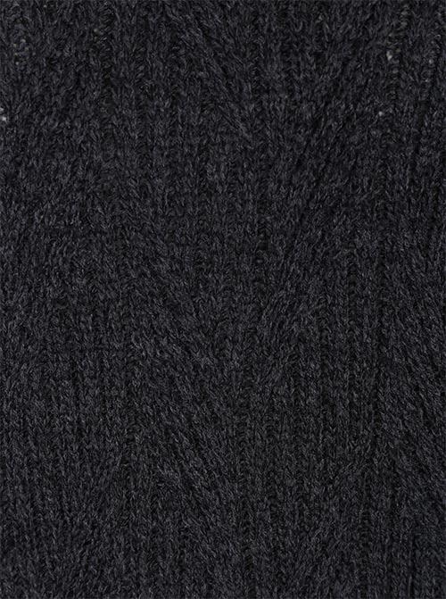 Pletené zimní šaty