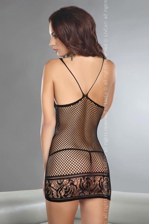 Síťované erotické šaty