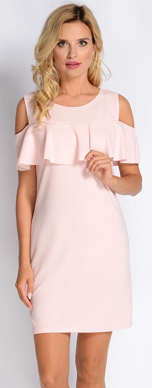 Sterorůžové družíčkoské šaty