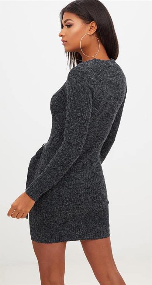 Zimní mini šaty