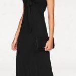 Dlouhé černé maxi šaty