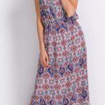 Dlouhé letní etno šaty