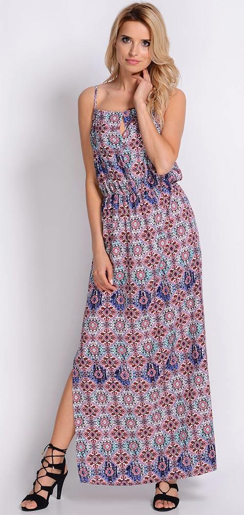 90299fbbe281 Dlouhé letní etno šaty