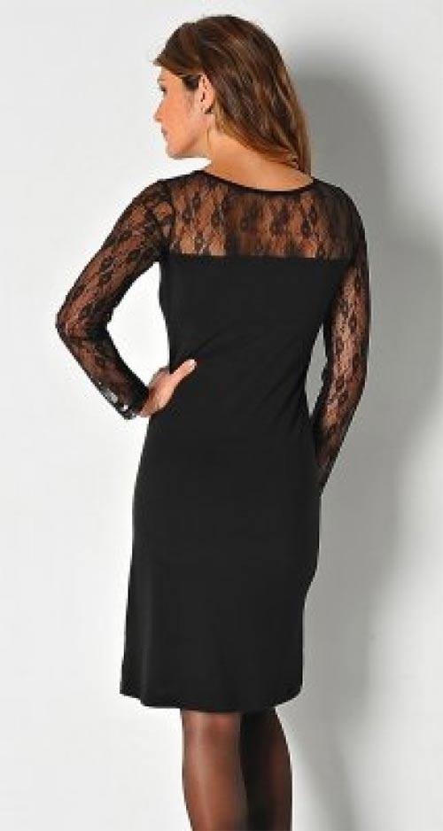 Elegantní krajkové šaty