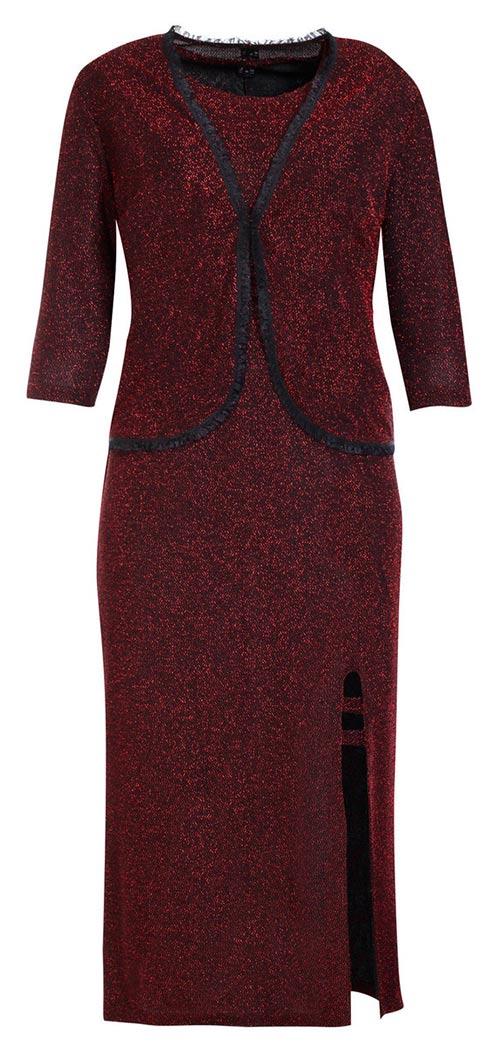 Plesové šaty s kabátkem