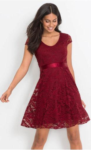 Celokrajkové plesové šaty