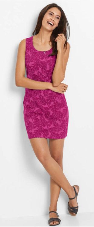 Černé dámské šaty. Úpletové květinové šaty 1cb338f049