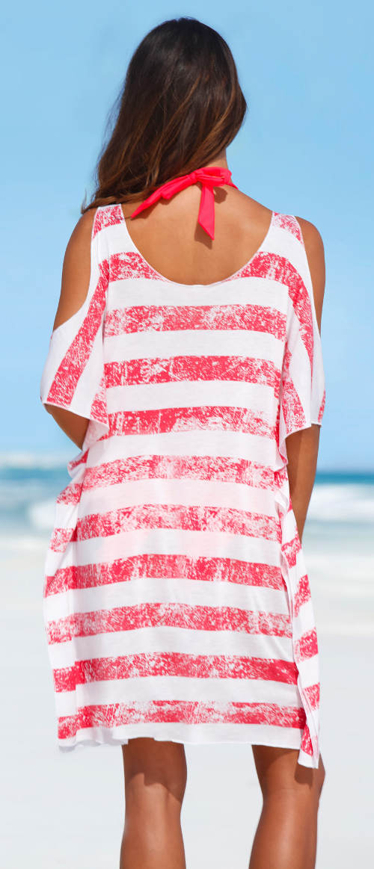 Ddlouhé dámské plážové tričko