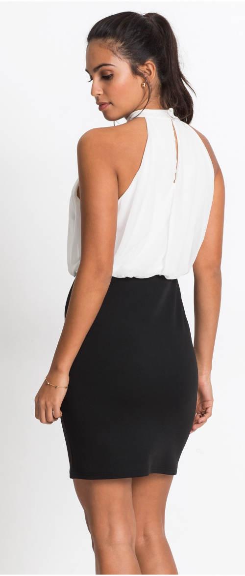 Šaty vypadající jako sukně a top