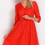 Úchvatné rozšířené krajkové šaty