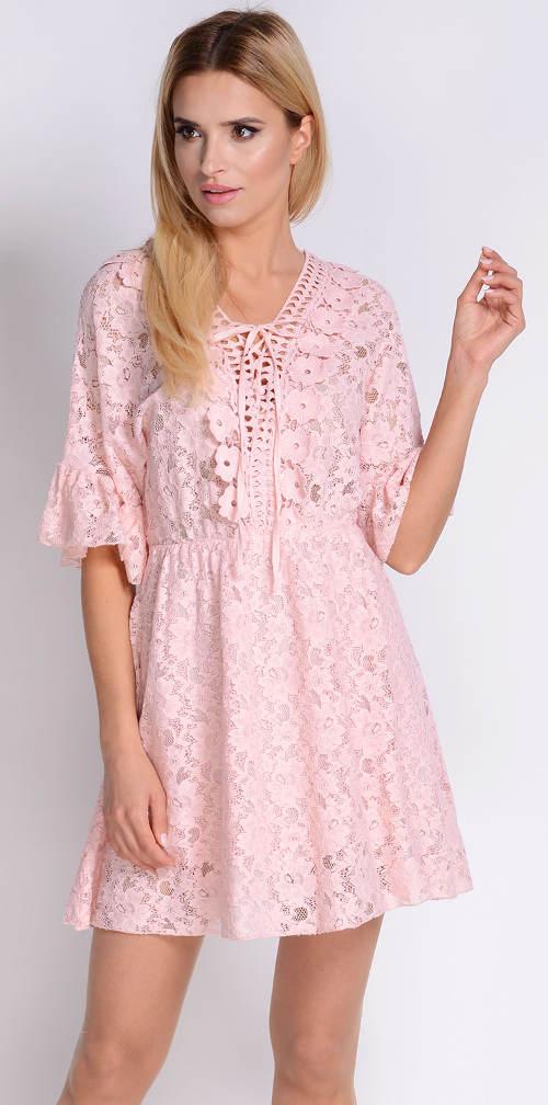 Celokrajkové letní retro šaty