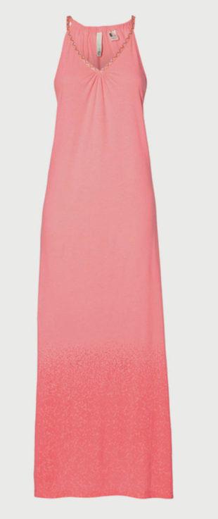 Dámské růžové maxi šaty O´Neill