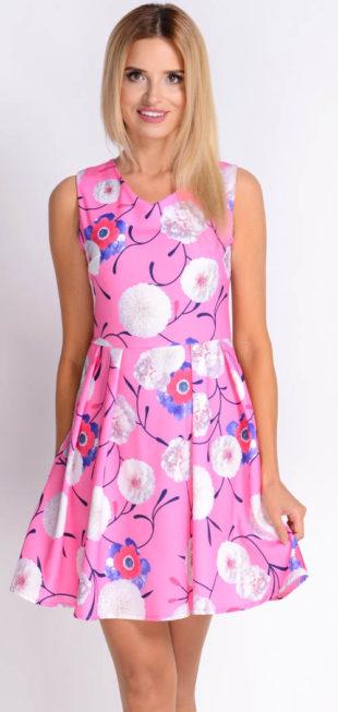Květované módní letní šatičky