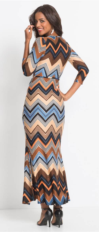 Dlouhé dámské etno šaty