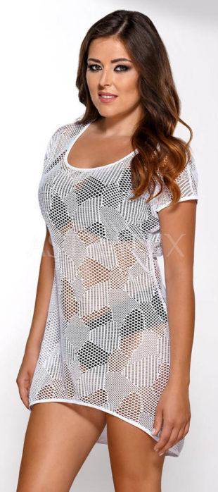 Síťované plážové letní šaty