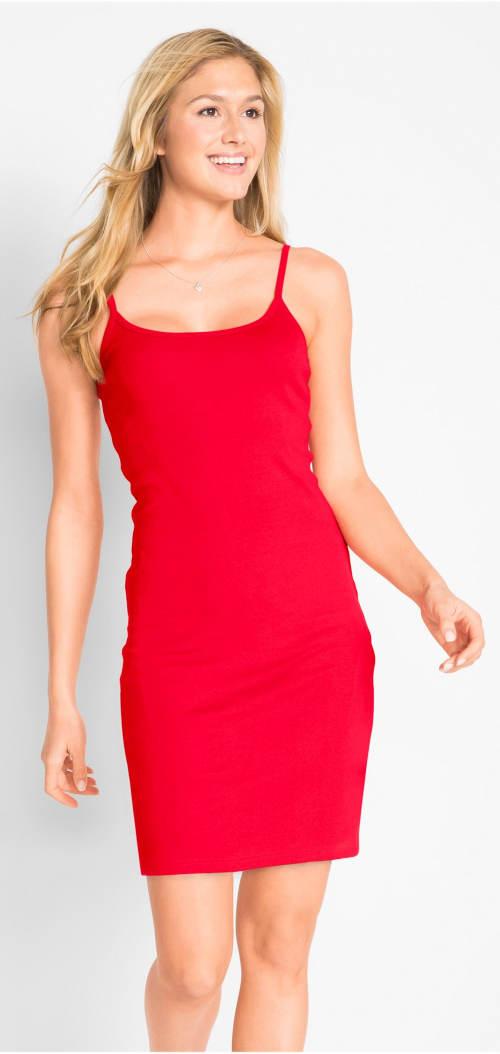 Červené sportovní šaty