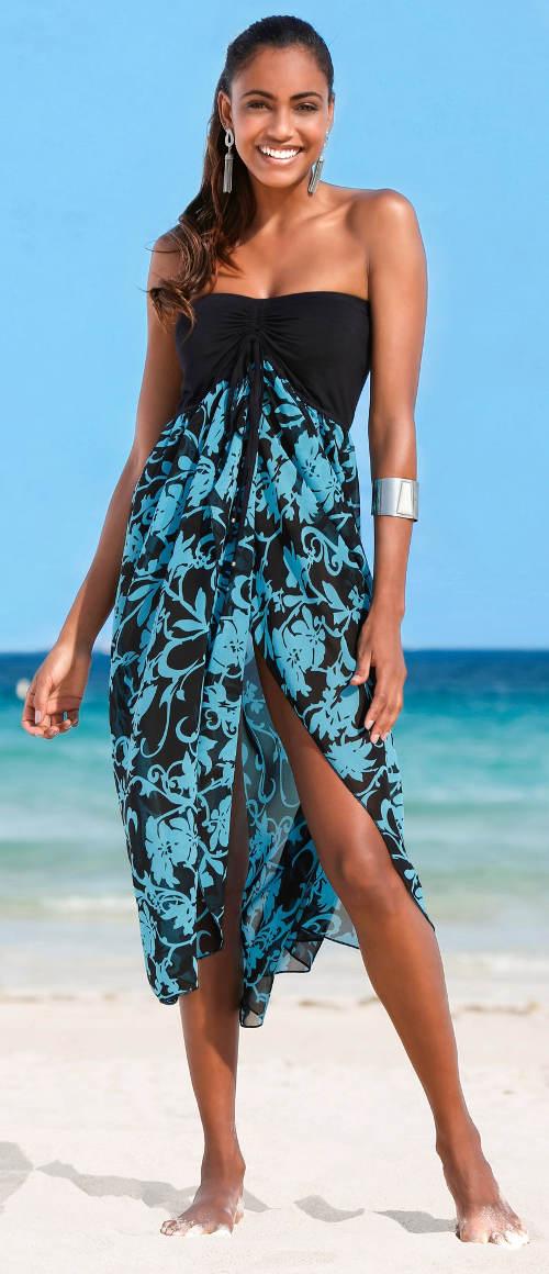 Letní šaty na dovolenou Bonprix