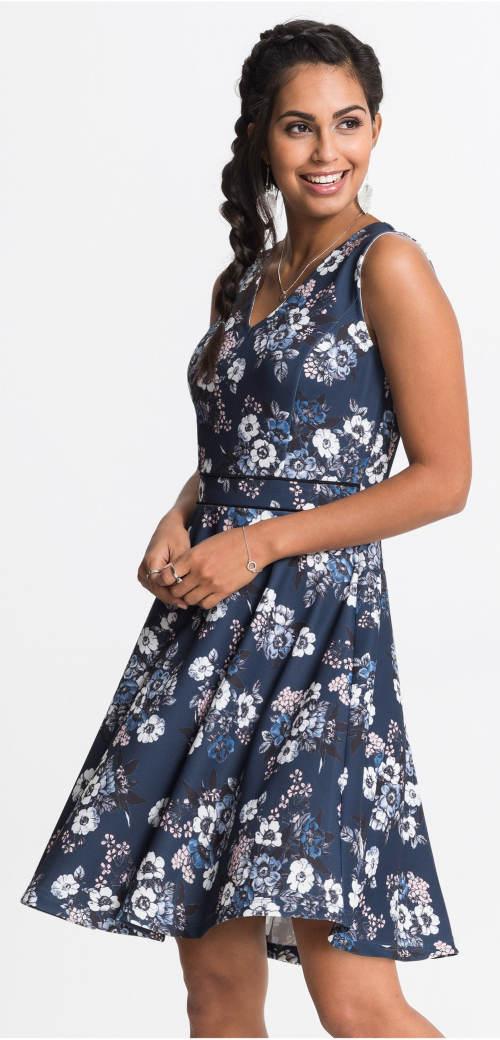 Žezžejové šaty s ozdobnými švy v pase
