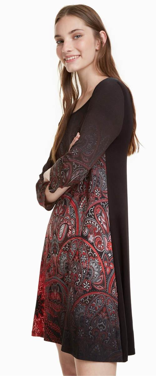 Dámské šaty mandala