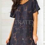 Italské plážové šaty s třásněmi