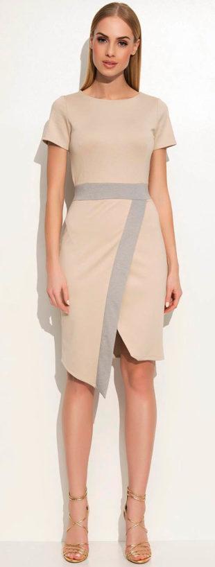 Šaty se sukní zavinovacího střihu