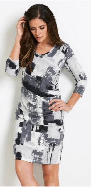 Dámské šaty 2018 s moderním potiskem