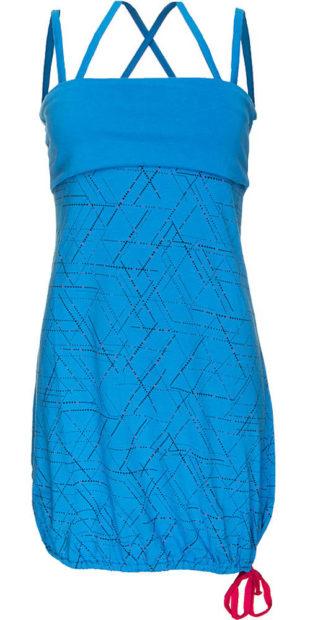 Modré letní šaty Alpine Pro