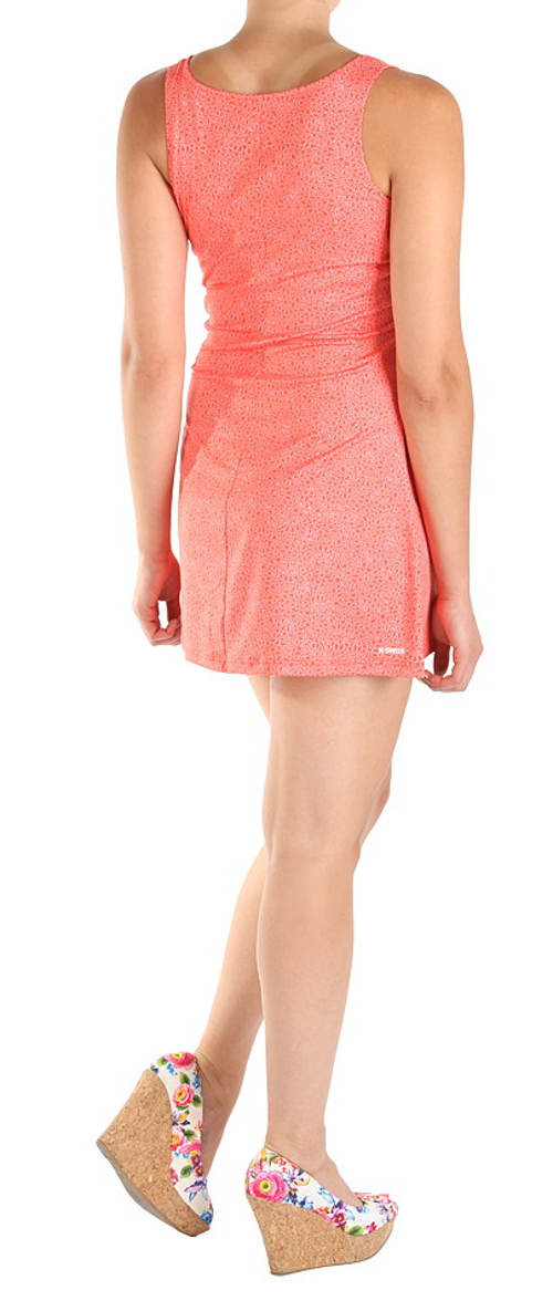 Růžové letní šaty výprodej