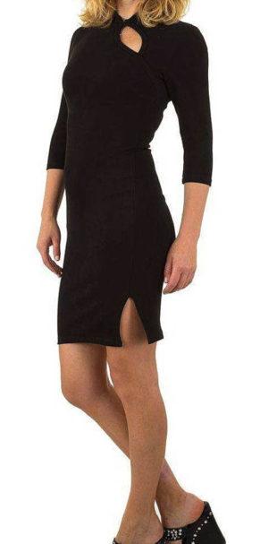 Výprodejové černé elegantní šaty