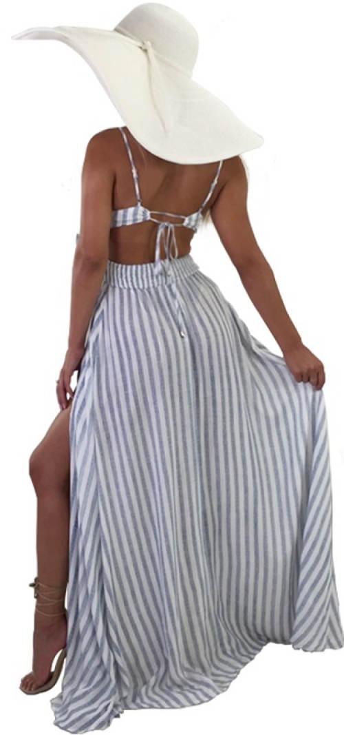 Vzdušné letní maxi šaty