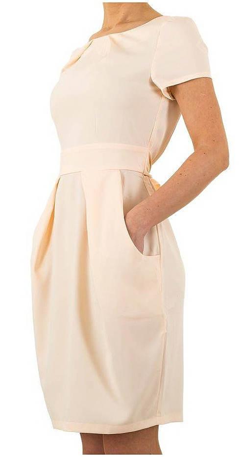 Balonové šaty s kapsami