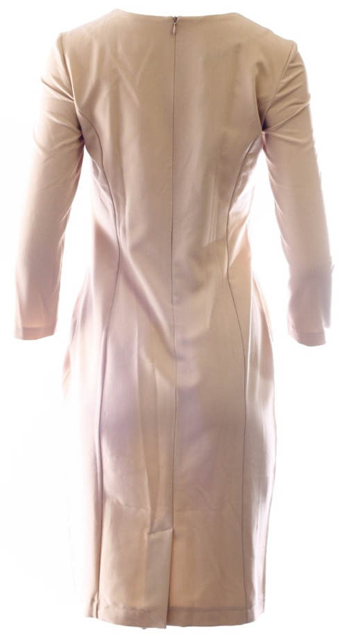 Béžové dámské šaty Nife
