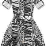 Dámské šaty zebra