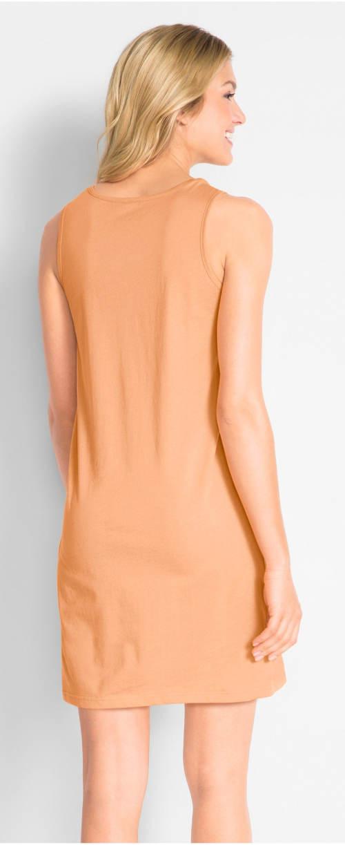 Letní šaty z bio bavlny