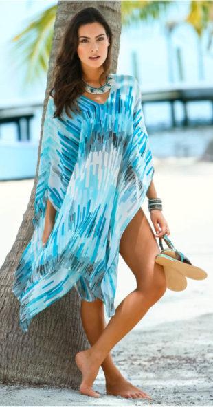 Přehozové plážové šaty