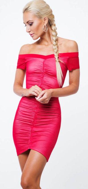 Večerní koktejlové mini šaty