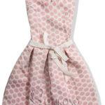 Výprodejové růžové šaty se stuhou v pase
