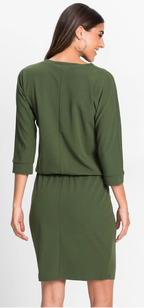 Zelené dámské šaty Bonprix
